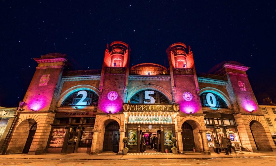 Hippodrome exterior, courtesy of Great Yarmouth Hippodrome