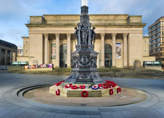 Sheffield War Memorial today