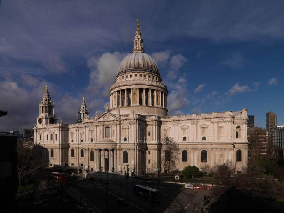 Exterior of St Paul's Cathedral