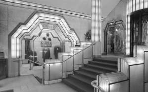 Art Deco style Interior of the Strand Palace Hotel
