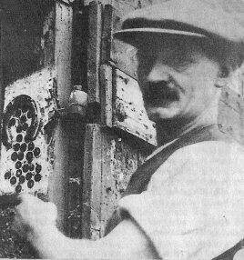 Portrait of John Hugill - Catwick's blacksmith