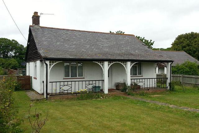 Exterior of a bungalow