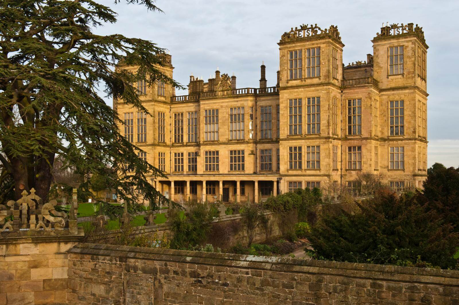 Exterior of Hardwick Hall