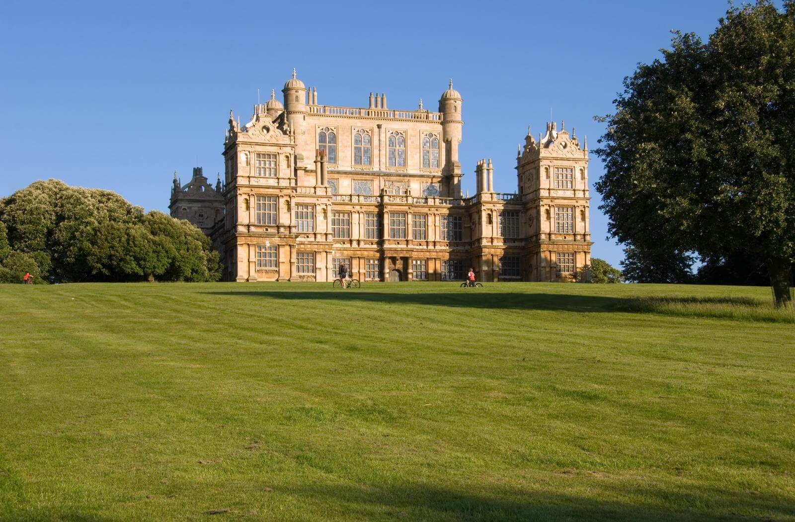 Exterior of Wollaton Hall