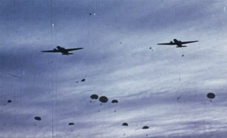 BLOG allied paratroopers over france public domain