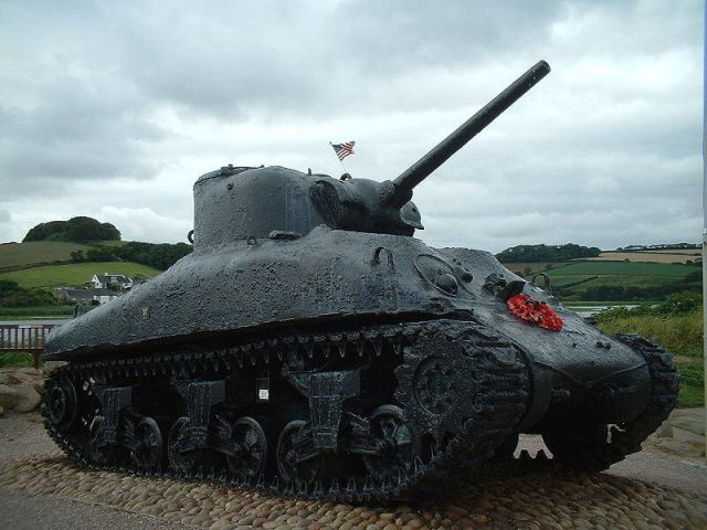 BLOG sherman tank memorial public domain