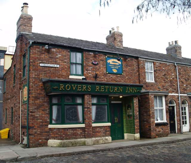 The Rovers Return Inn on Coronation Street