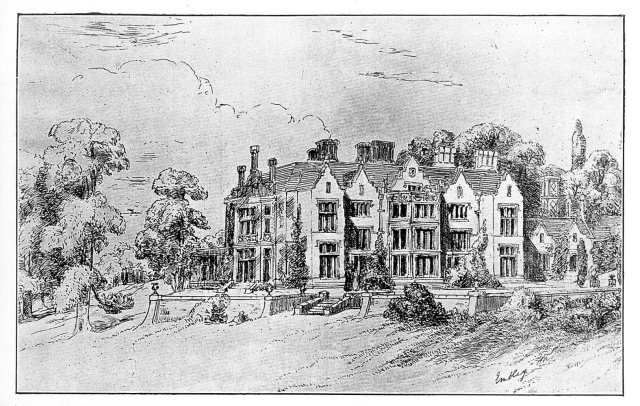 Sketch of Embley Park, near Romsey, Hampshire