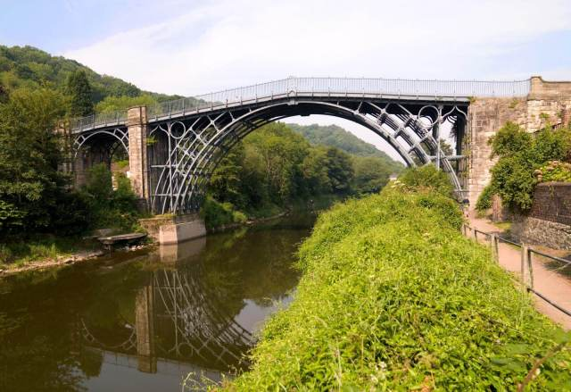 The Iron Bridge, the Gorge, Shropshire