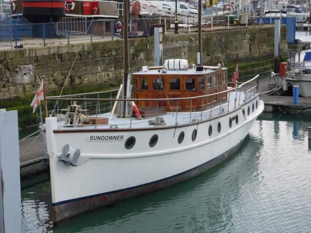 Dunkirk Little Ship, the motor yacht Sundowner