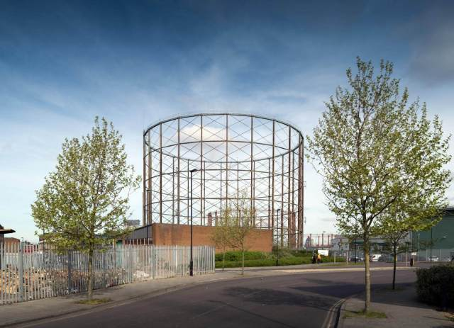 Gasholder No 13 on Old Kent Road