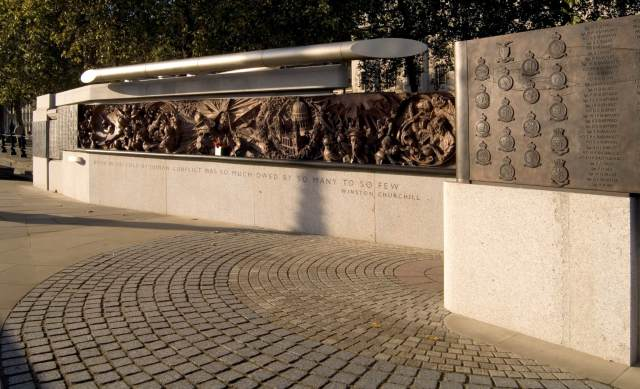 Battle of Britain Memorial by Paul Day