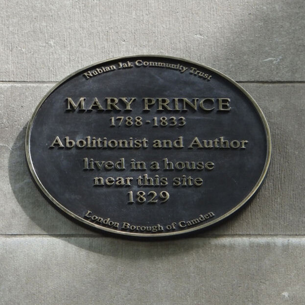 Mary Prince plaque, London © Open Plaques