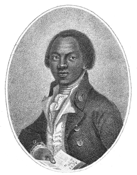 Portrait of abolitionist Olaudah Equiano. Image via Wikimedia Commons