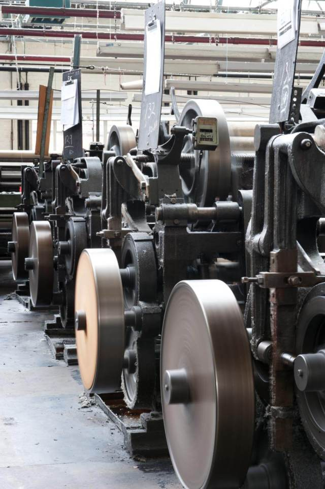 Bobbinet machines