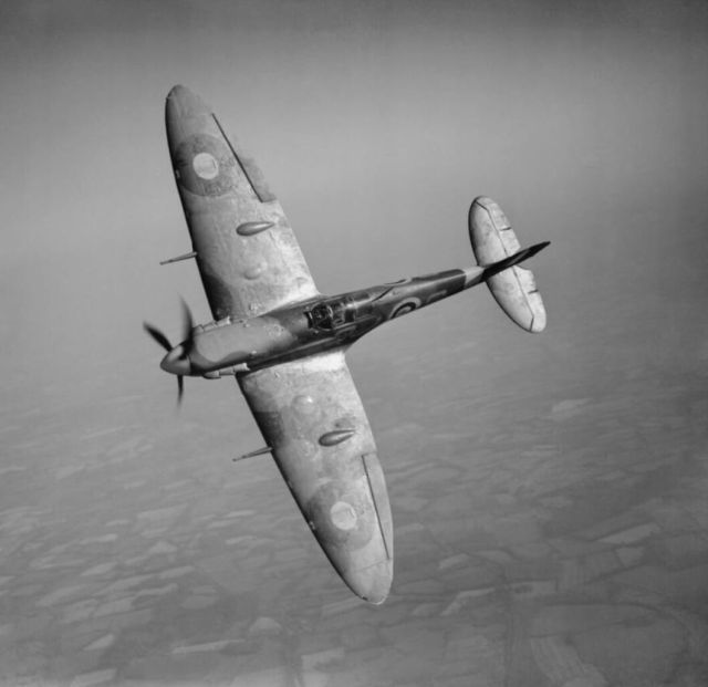 Spitfire Mark VB  in flight