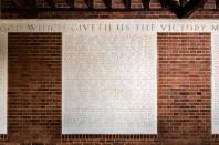 Hatfield War Memorial plaque