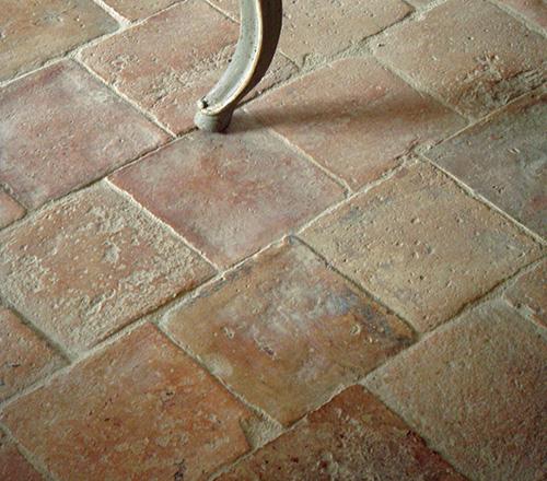 antique blanc rose terracotta tiles