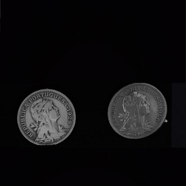Portugal One centavos centavos 1946.1929. .90 in 22.70mm vv