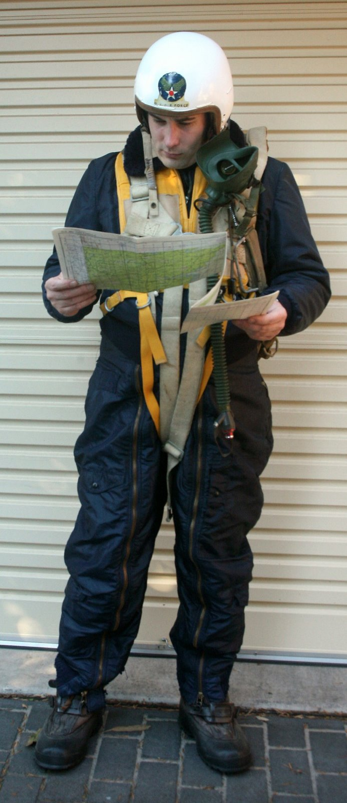 1950s USAF KOREAN WAR COLD WEATHER FLIGHT GEAR DISPLAY  Heritage Flightgear Displays