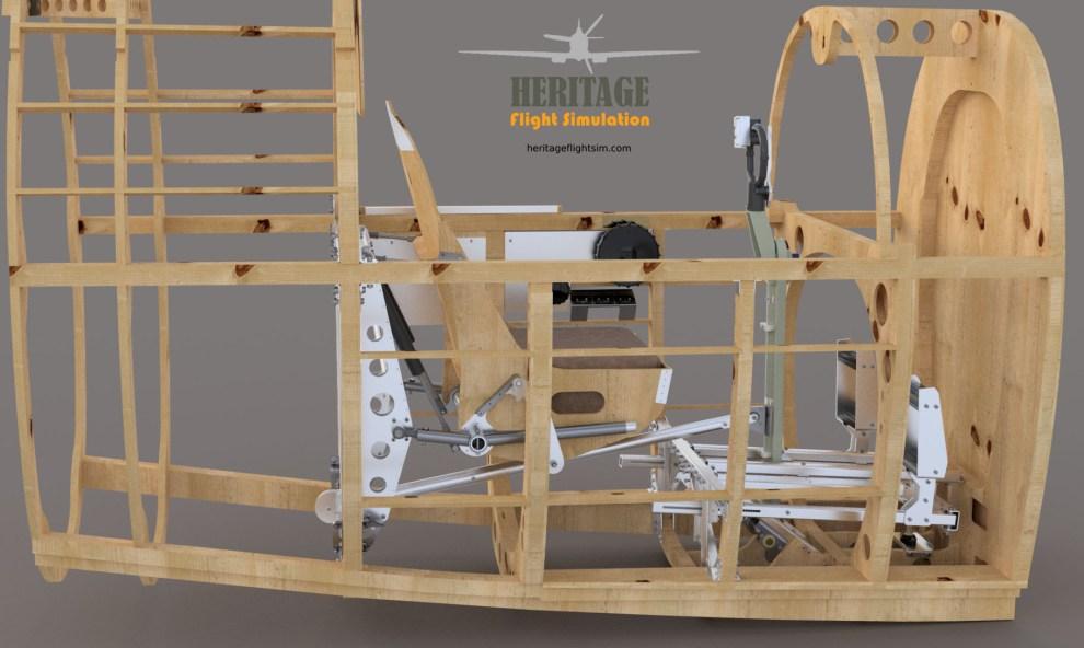 Spitfire Mk9 Sim Fight Controls