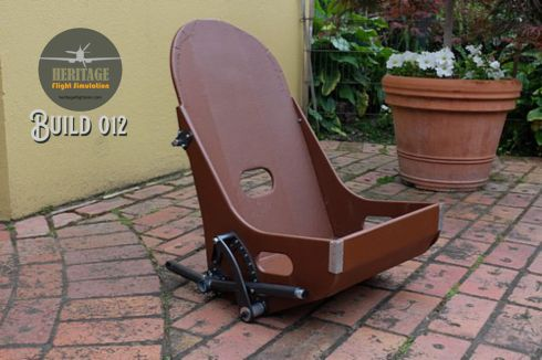 Seat- great reproduction of the original paper based composite colour