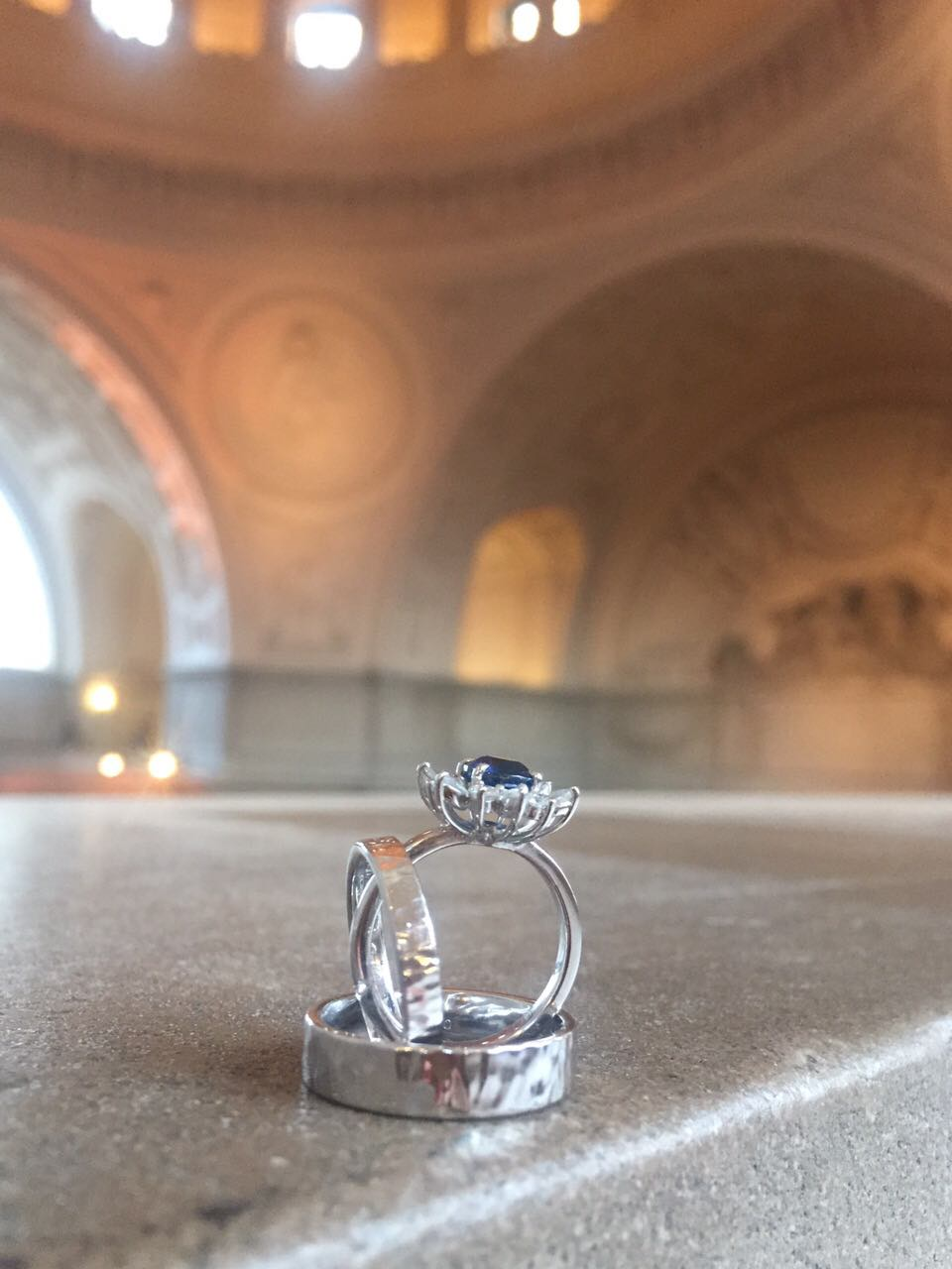 Wedding Bands San Francisco City Hall