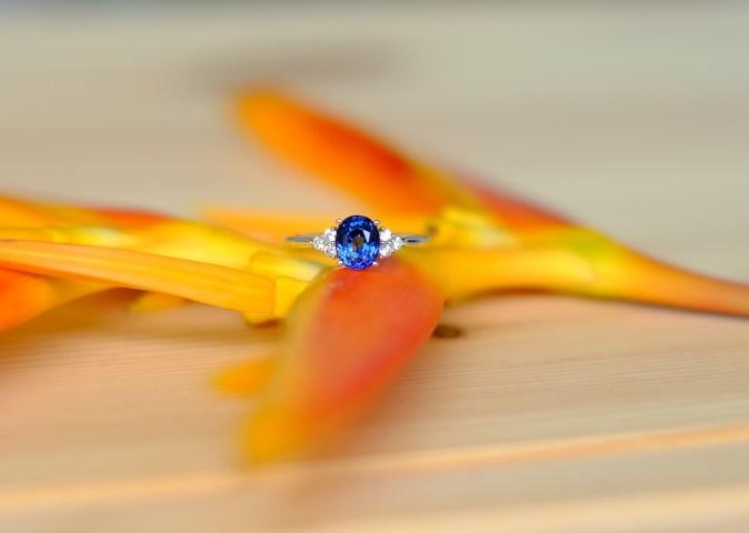 Sapphire Engagement Ring Customised