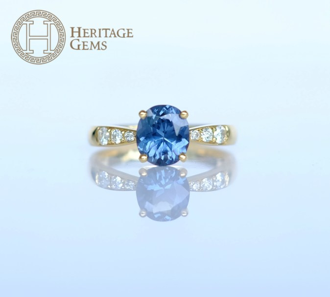 FineBlueSpinelRing