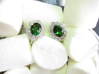 Vintage Tsavorite Earrings  Green Splendour  Heritage ...