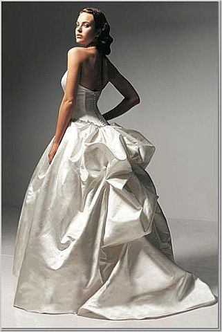 Wedding Gown Bustle Options Styles of Wedding Dress Bustles