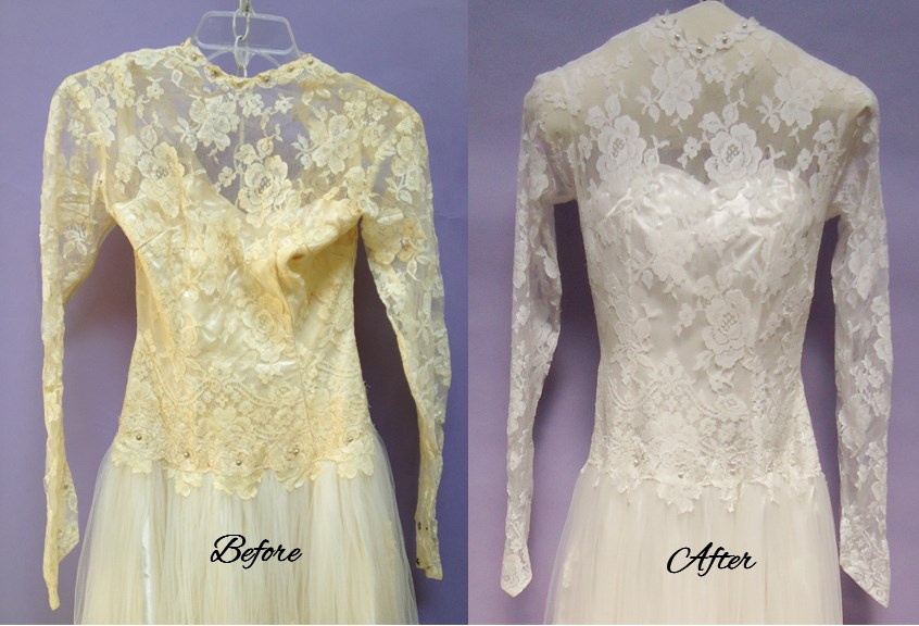 Wedding Dress Restoration Treatment Methods And Risks