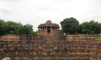 Front View of Sabha Mandap