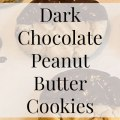 Dark Chocolate Dipped Peanut Butter Cookies- Heritage Home Ec These homemade Dark Chocolate Dipped Peanut Butter cookies are sure to please. Creamy peanut butter and dark chocolate. What could be better? | Dessert | Baking | Cookies | Sweets |