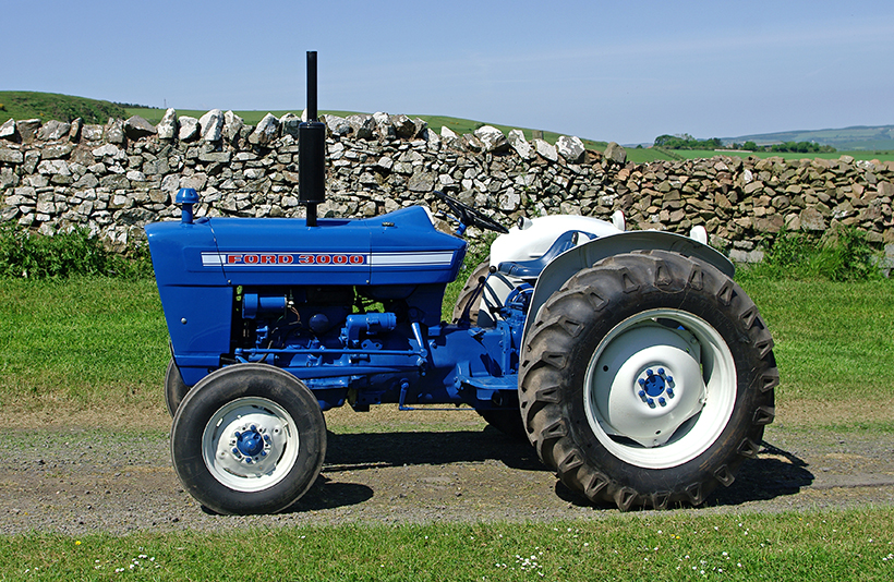 1965 and up, gas and diesel. A Fabulous Ford 3000 Heritage Machines