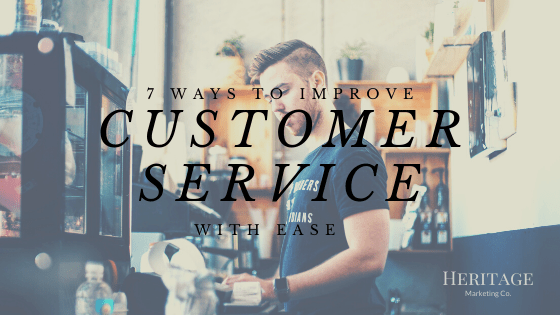 blog graphic improving customer service