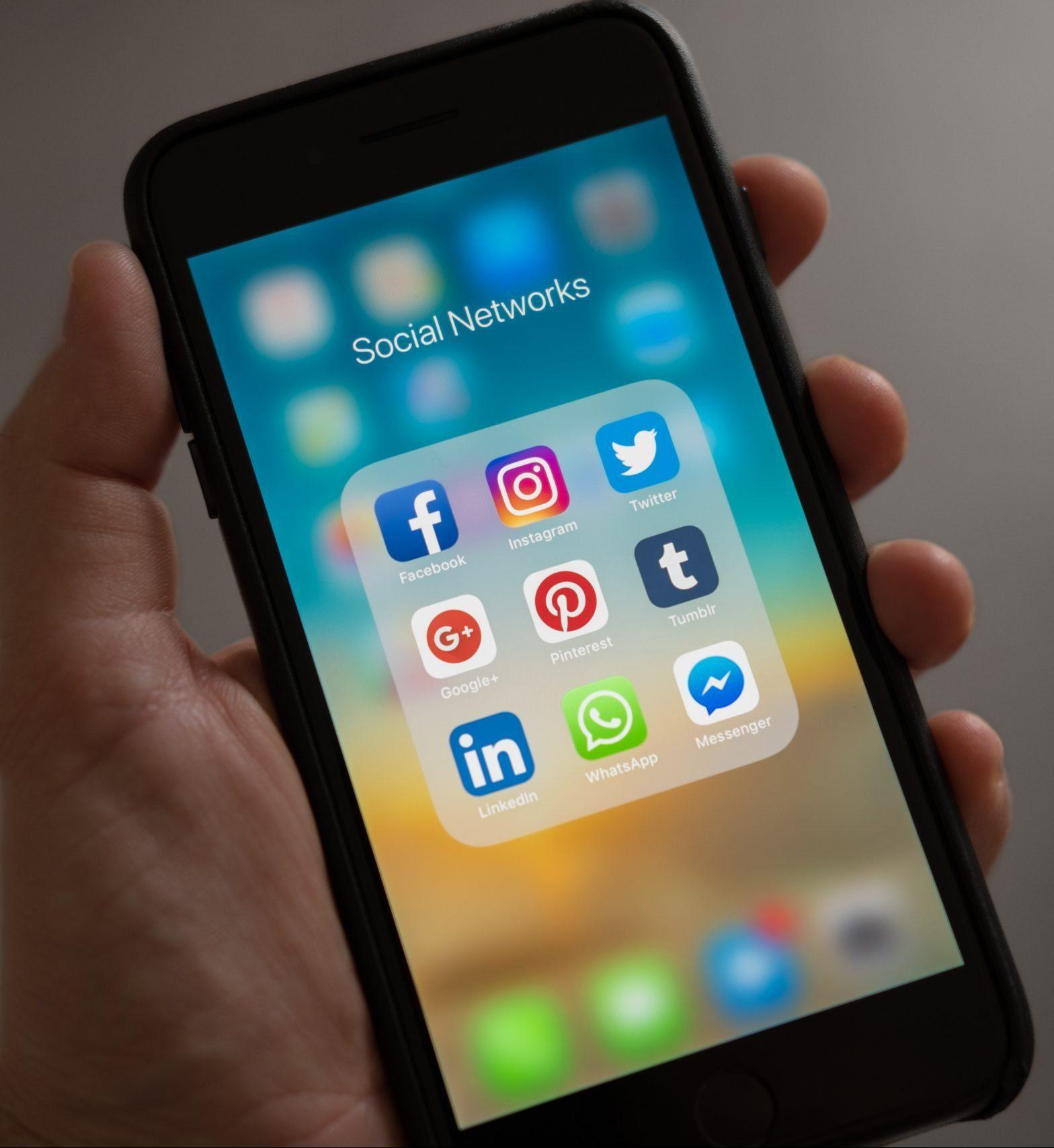 social media management graphic