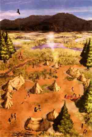 Kambayashi iseki: What a Paleolithic campsite looked like