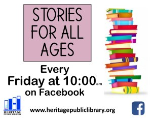 Virtual Stories For All Ages @ Facebook Live | New Kent | Virginia | United States