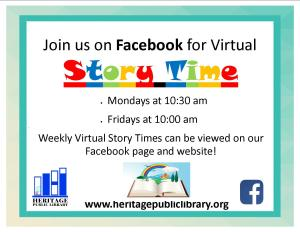 Virtual Storytime - CC @ Facebook Live | Charles City | Virginia | United States