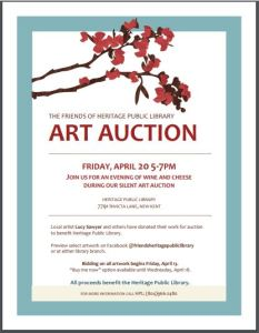 Silent Art Auction Preview & Buy It Now @ Heritage Public Library | New Kent | Virginia | United States
