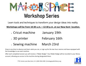 Makerspace - Sewing @ Heritage Public Library | New Kent | Virginia | United States