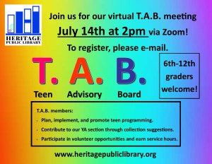 Virtual T.A.B Meeting