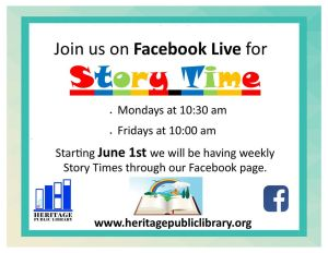 Virtual Story Time - NK @ Facebook Live | New Kent | Virginia | United States