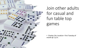 Table Top Games - CC @ Heritage Public Library   Charles City   Virginia   United States