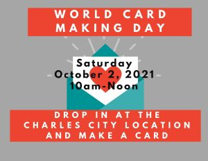 World Card Making Day @ Heritage Public Library | Charles City | Virginia | United States