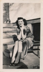 Mary Theresa Helbling- 1940s Glamour Pose