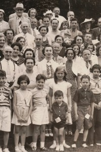 Fourth Annual Broida Family Reunion, July 11, 1937. Youngstown, Ohio. #9D