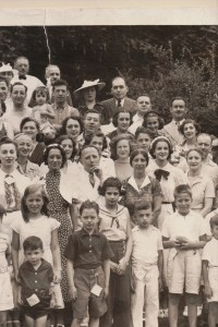 Fourth Annual Broida Family Reunion, July 11, 1937. Youngstown, Ohio. #9B