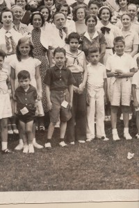 Fourth Annual Broida Family Reunion, July 11, 1937. Youngstown, Ohio. #9A